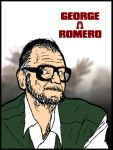 George A. Romero by DarkerThanBlack