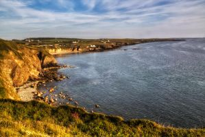 Coastal Path from Church Bay by CharmingPhotography
