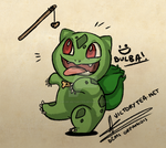 Bulbasaur by Cup-of-VictoryTea
