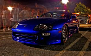 TST Meet - Blue Supra by jb1830