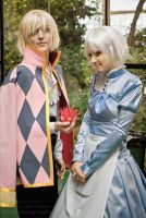 Howl's Moving Castle by Azetylen