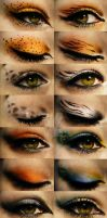 Animal Make ups by raptorzysko