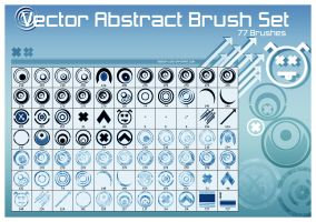 Vector Abstract Brushes Vol.1 by SeedFX