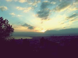 Sunrise Upon The City by AGGA-PHOTOGRAPHY