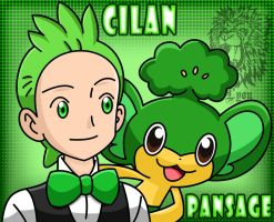 Cilan, the Striaton City Gym Leader by TheDocRoach