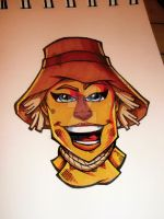12-1000 Ms. Scarecrow by RobKramer