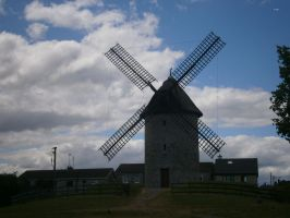Old windmill by animatorV