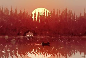 The lake house by PascalCampion