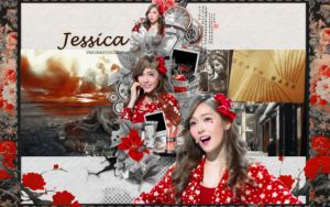 [WALLPAPER] Jessica Jung by SylpHollow