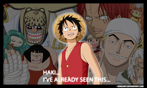 One Piece - Haki by SergiART