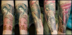 My right forearm by JJM1981