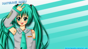 hatsune miku timeline cover by GreenTea-Ice