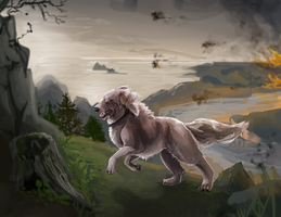 doggle speedpaint by Appletail
