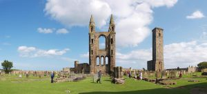 St Andrews Cathedral ruins by Graid