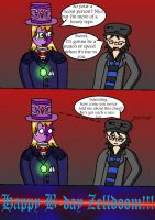 Zelldoom's B-day 2 by Trifong