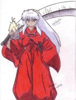 Inuyasha by aquablueflamedragon