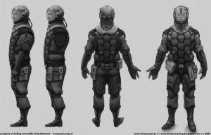 Soldier Concept by thirdeyepl