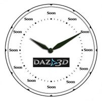 DAZ Product Delivery Clock by AdamTLS