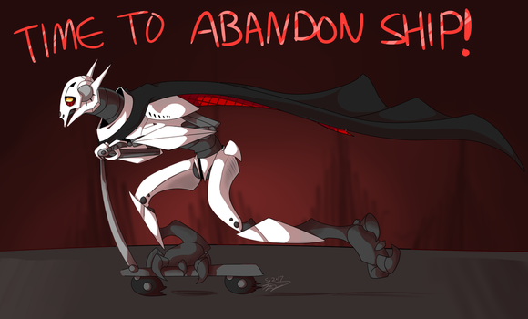 Time to Abandon Ship! by ArtistoftheGeeks