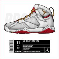 Air Jordan 7 Retro YOTR by BBoyKai91