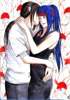 Commission - Uchiha's Kiss by Sweetillita