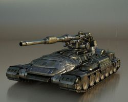 Self Propelled Gun by kceg