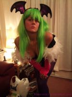 Morrigan Aensland Cosplay - by Peppermint-Tea