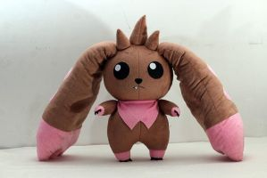 Lopmon Plush From Digimon by aresen-k