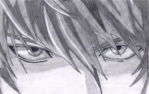 Light Yagami Eyes by pcalkinonline