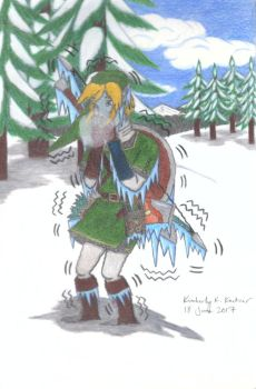 Poor Link: I'm So C-C-Cold... (Version 3) by LuckyNumber113