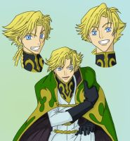 Code Geass Gino by AsherothTheDestroyer