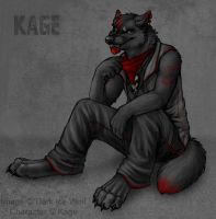 Kage Hayden by DarkIceWolf