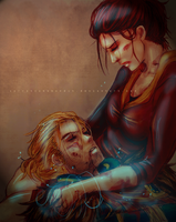 Anders and Saoirse by CarrotCakeBandit