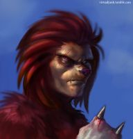 Knuckles the Echidna by maddekartist