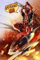 Strider X Deadpool by geeshin