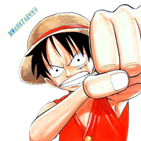 Luffy render by miahatake13 by miahatake13