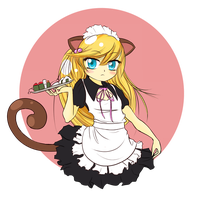 CATGIRL MAID by jessiejazz