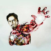 Iron Man by Blu3Tea