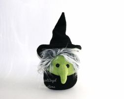 Stuffed Bad, Evil Witch Plushie by Saint-Angel