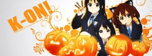 K-ON! HALLOWEEN VERSION! by kyonjptolentino