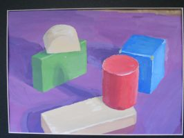 Block Still Life by SailorShana8