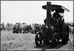 Traction engine 2 by millsnickdave