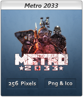Metro 2033 - Icon 2 by Crussong