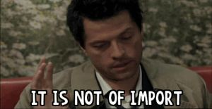 it is not of import.gif by mackie-ox
