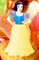 Plus size Princess: Snow white by Willemijn1991