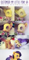 Customised My Little Pony Fluttershy by AndrejA
