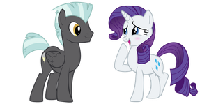 Rarity x Thunderlane by LunaticDawn
