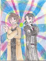 The Doctor and The Master by Luke-the-F0x