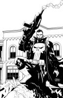 The Punisher by johnnymorbius