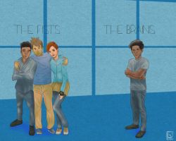 Little Boy Blue and the Blue Boys by jackcrowder